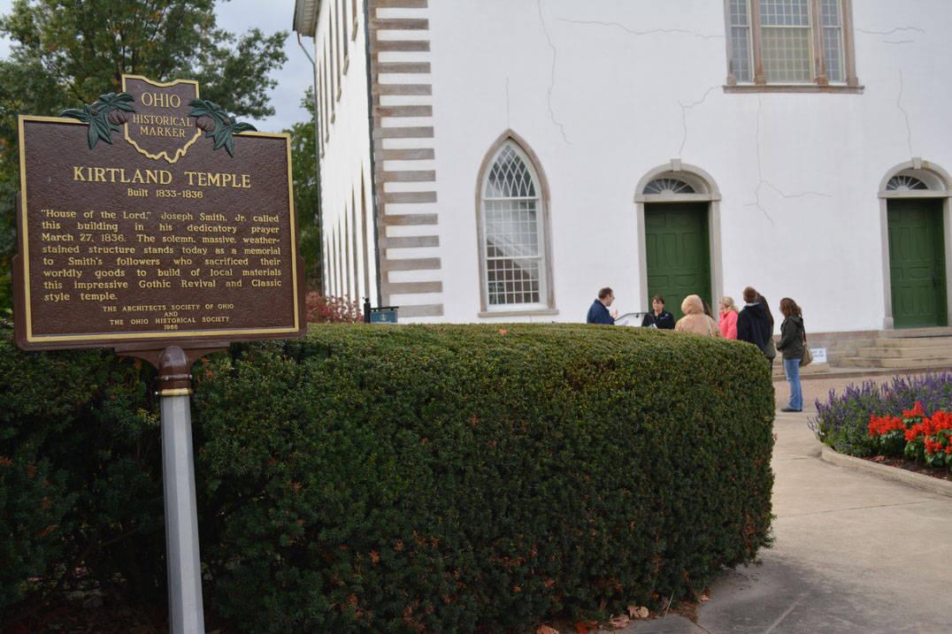 Class visits Kirtland Temple